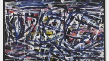 Jean Dubuffet - Fantasme bleu