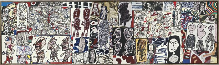 Jean Dubuffet-Le Tissu Social-1977
