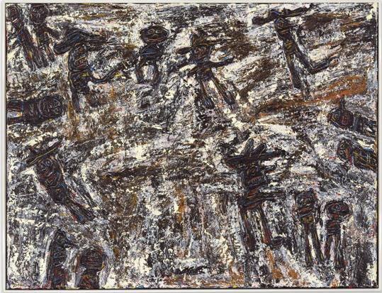 Jean Dubuffet-Midi Sonne Grelot-1961