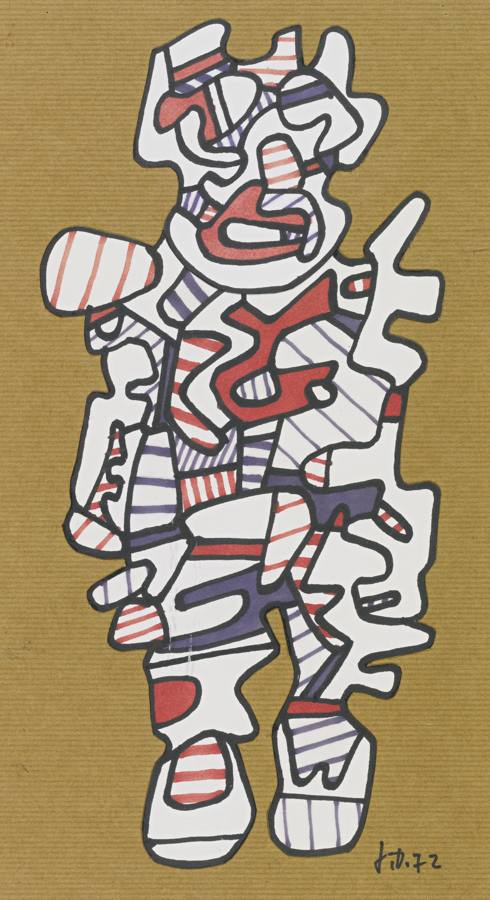 Jean Dubuffet-Personnage-1972