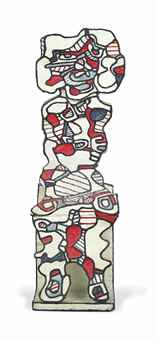 Jean Dubuffet-Personnage assis II-1967