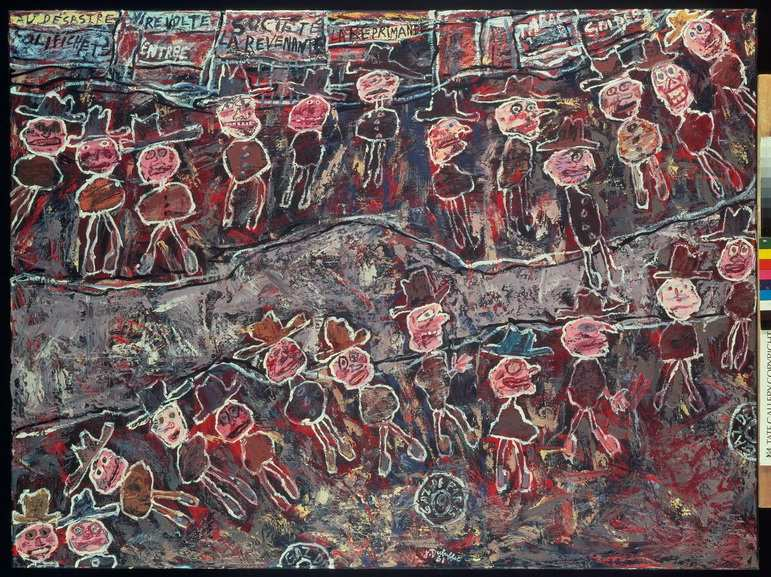 Jean Dubuffet - Vire-volte (Spinning Round)