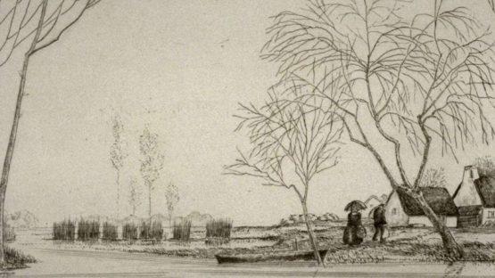 Jean-Emile Laboureur - Return to the Farm Briere - Image via famsf