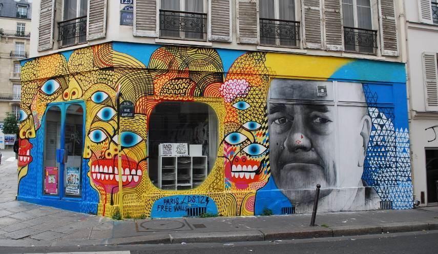 Le Mur - Image via imagestolivebycom