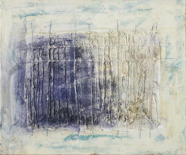 Jean Fautrier-Construction Rectiligne-1958