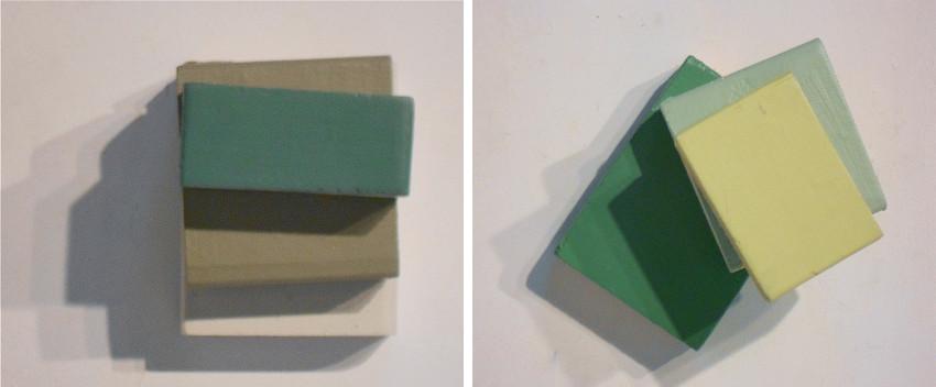 Jean Feinberg - Untitled #1, 2014 - Untitled #2, 2014