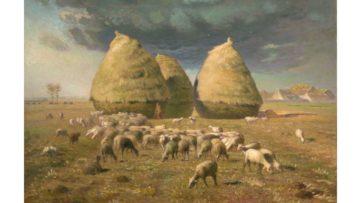 Jean-Francois Millet - Haystacks