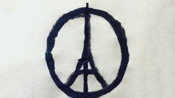 Jean Jullien Pray for Paris 2015 like video work shared just