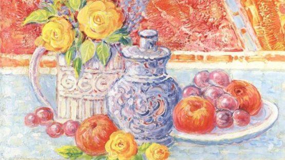 Jean Lareuse - Fleurs et Fruits (detail)