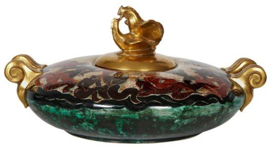 Jean Mayodon - Ceramic Table - photo via 1stdibs