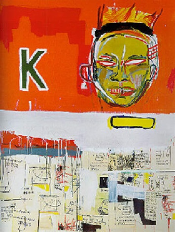 Jean-Michel Basquiat-2 1/2 Hours of Chinese Food-1984