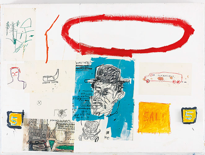 Jean-Michel Basquiat-A Next-1984
