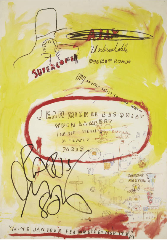 Jean-Michel Basquiat-Supercomb-1988