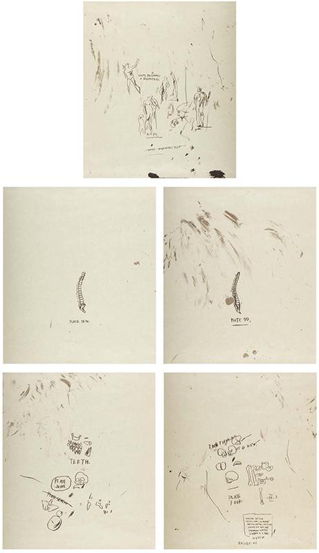 Jean-Michel Basquiat-After Jean-Michel Basquiat - Leonardo-1983