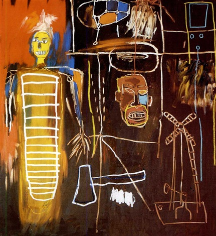 Jean-Michel Basquiat-Air Power-1984