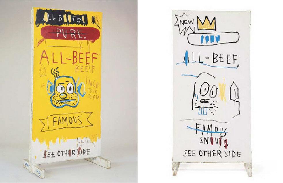 Jean-Michel Basquiat-All Beef-1983