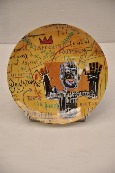 Jean-Michel Basquiat-All colored cast-1982
