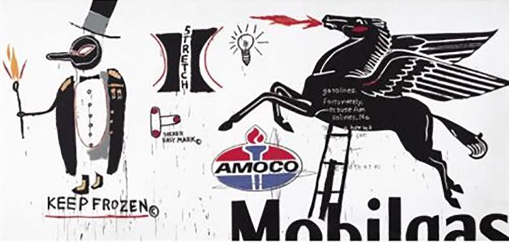 Jean-Michel Basquiat-Amoco-1984