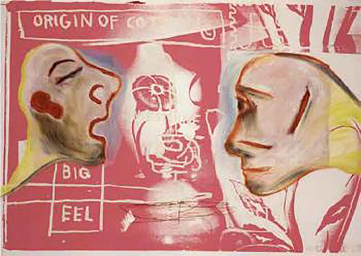Jean-Michel Basquiat-Amorosi-1984