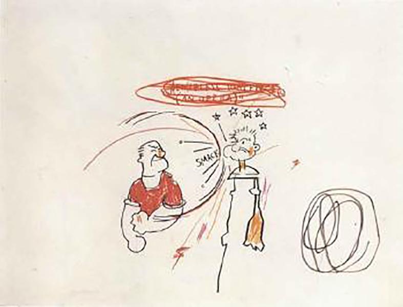 Jean-Michel Basquiat-An Opera-1985