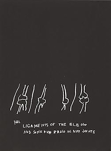 Jean-Michel Basquiat-Anatomy (Ligaments of the Elbow and Superior Radio Ulnar Joints)-1982