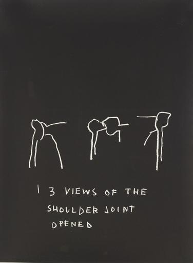 Jean-Michel Basquiat-Anatomy (Shoulder Joint Opened)-1982