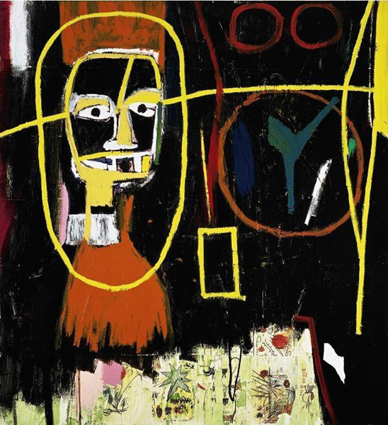Jean-Michel Basquiat-Ancient Scientist-1984