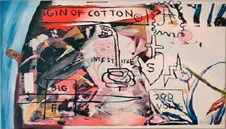 Jean-Michel Basquiat-Francesco Clemente-Andy Warhol-Jean-Michel Basquiat, Andy Warhol and Francesco Clemente - Pimple Head-1984