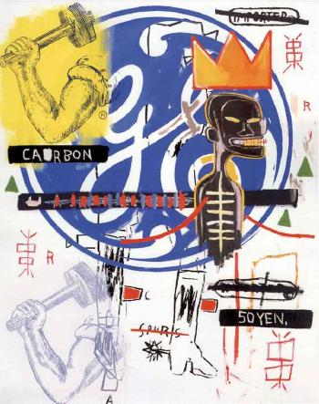 Jean-Michel Basquiat-Andy Warhol-Jean-Michel Basquiat and Andy Warhol - Untitled-1984