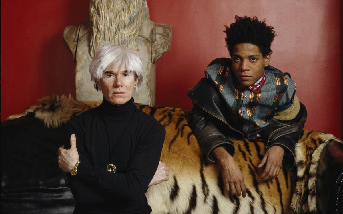 Image result for jean basquiat and andy warhol last photo