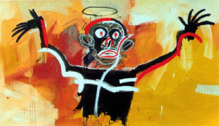 Jean-Michel Basquiat-Angel-1982