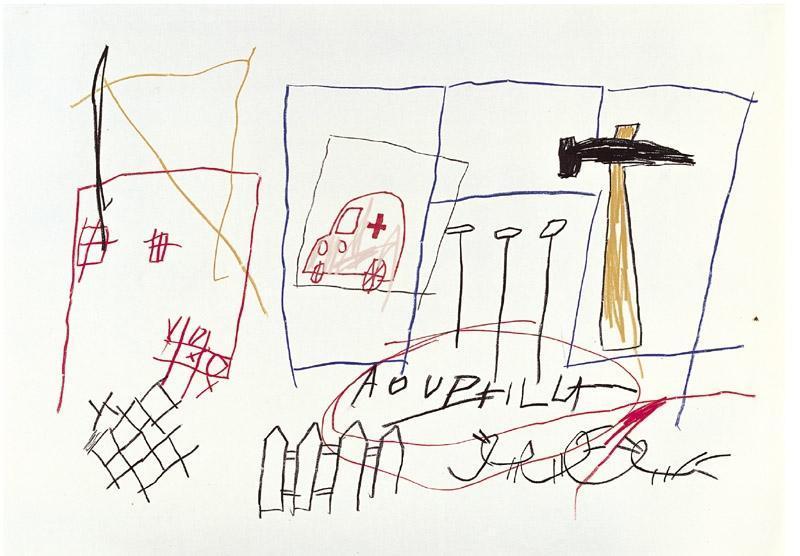 Jean-Michel Basquiat-Aouphilla-1981