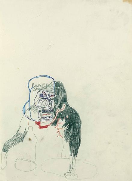 Jean-Michel Basquiat-Ape-1984