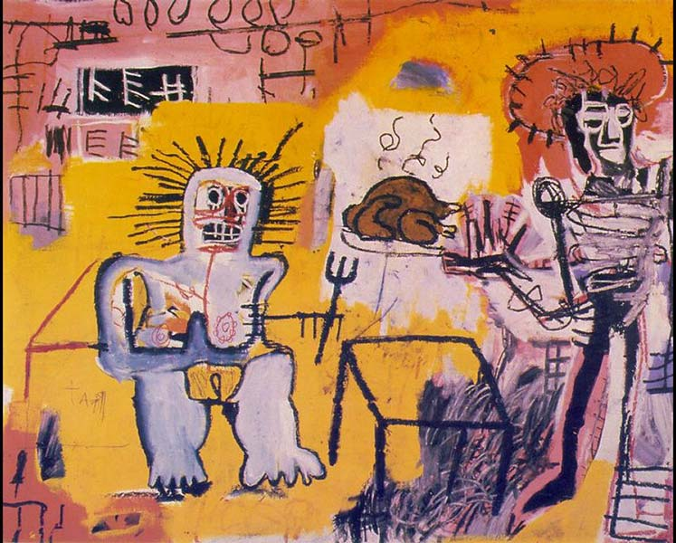 Jean-Michel Basquiat-Arroz Con Pollo-1981