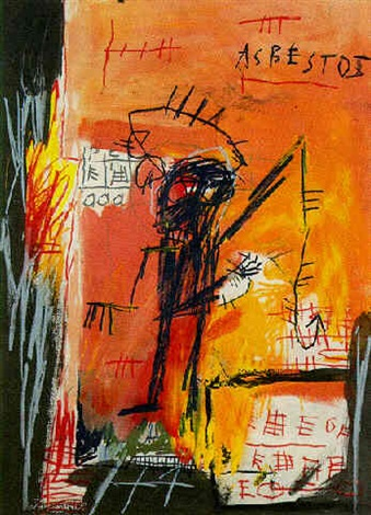 Jean-Michel Basquiat-Asbestos-1981