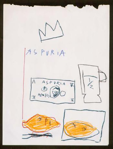 Jean-Michel Basquiat-Aspuria-1981