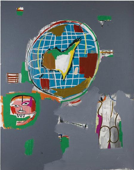 Jean-Michel Basquiat-At Large-1984