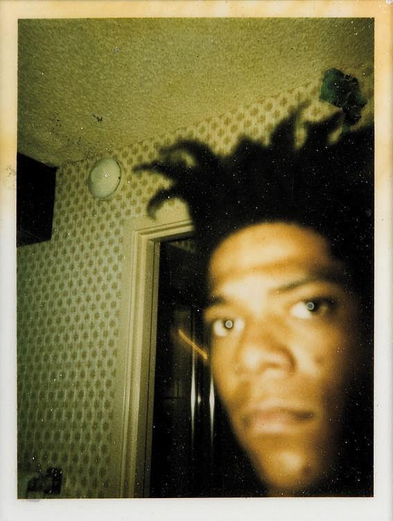 Jean-Michel Basquiat-Auto Portrait-1986