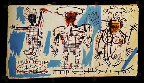 Jean-Michel Basquiat-Baby Boom-1982