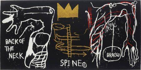 Jean-Michel Basquiat-Back of the Neck-1983