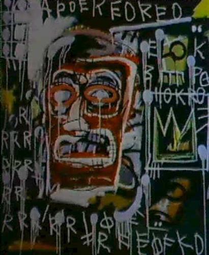 Jean-Michel Basquiat-Banker-1982