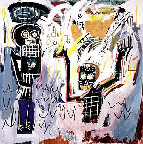 Jean-Michel Basquiat-Baptismal-1982