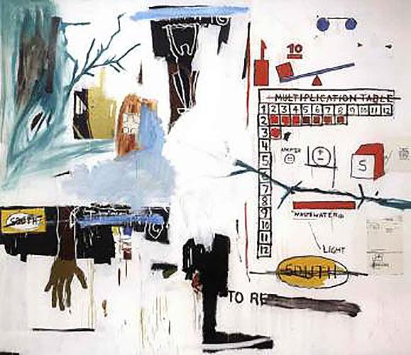 Jean-Michel Basquiat-Bayou-1984