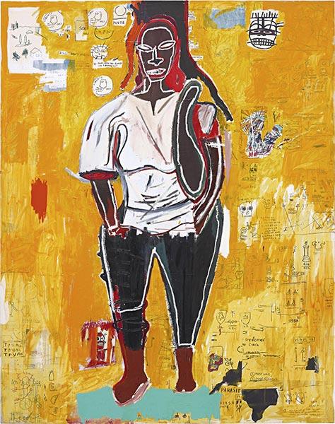 Jean-Michel Basquiat-Big Joy-1984