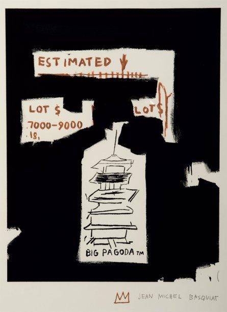 Jean-Michel Basquiat-Big Pagoda-