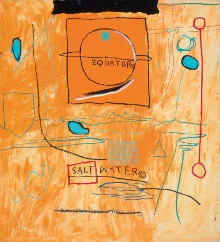 Jean-Michel Basquiat-Big Sun-1984