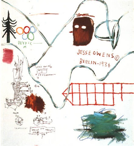 Jean-Michel Basquiat-Big Snow-1984