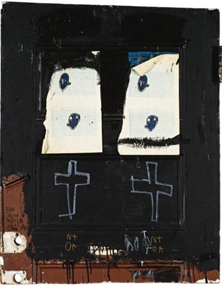 Jean-Michel Basquiat-Black Door, Nota-1981