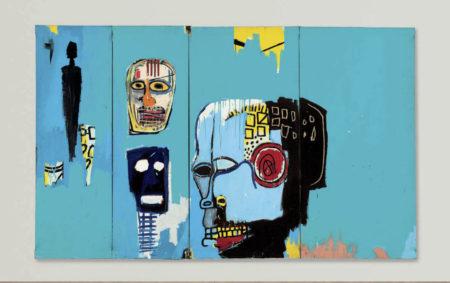 Jean-Michel Basquiat-Blue Heads-1983