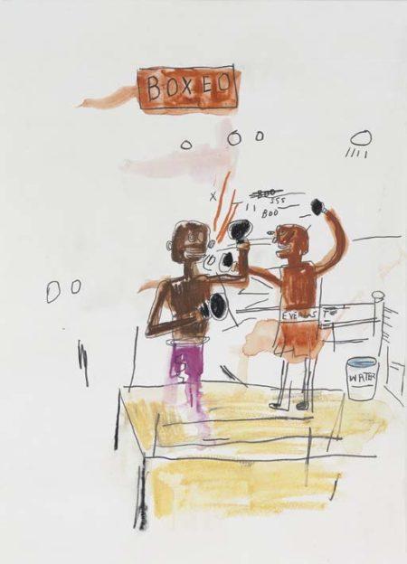 Jean-Michel Basquiat-Boxeo-1986